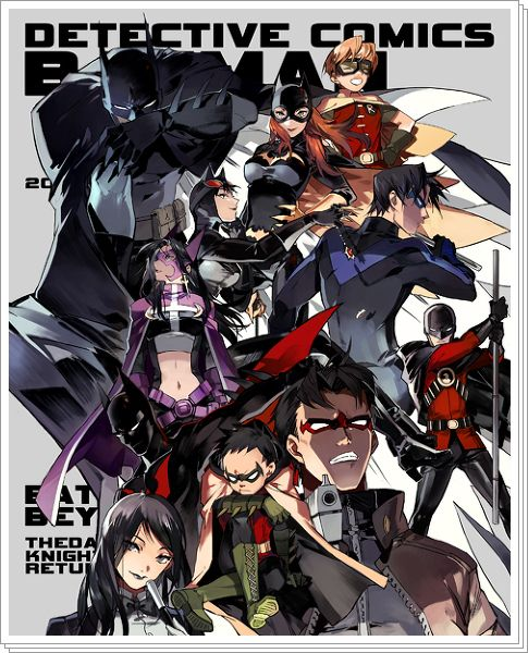 Batman Manga style, i buy the ame com girls comics, but where can i get this!?
