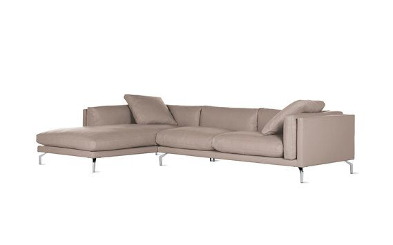 Como Sectional Chaise Modern sectional