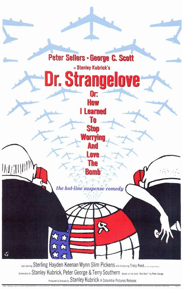 http://triangleartsandentertainment.org/wp-content/uploads/2016/05/dr-strangelove-movie-poster-1964-1020144095.jpg - THE CINEMA INC - FILM NOTES - MAY 2016 - DR STRANGELOVE (OR HOW I LEARNED TO STOP WORRYING AND LOVE THE BOMB) -  Filmed during the fist half of 1963, the first screening  was scheduled for November 22, 1963, the day that John F. Kennedy was assassinated. the premiere was changed to 29 January 1964.   Just 15 months before (October 22, 1962) President Kennedy