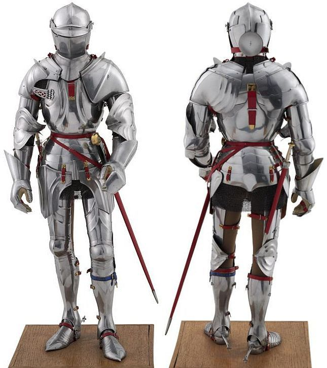 Image result for 16th century plate armor