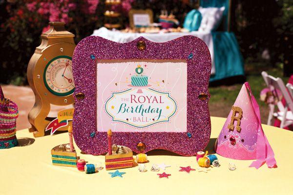 FREE Printables Sparkly Disney Princess Birthday Party Disney - birthday invitation card templates free download