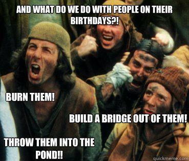 Shes A Witch Monty Python Quickmeme Funny Memes Monty