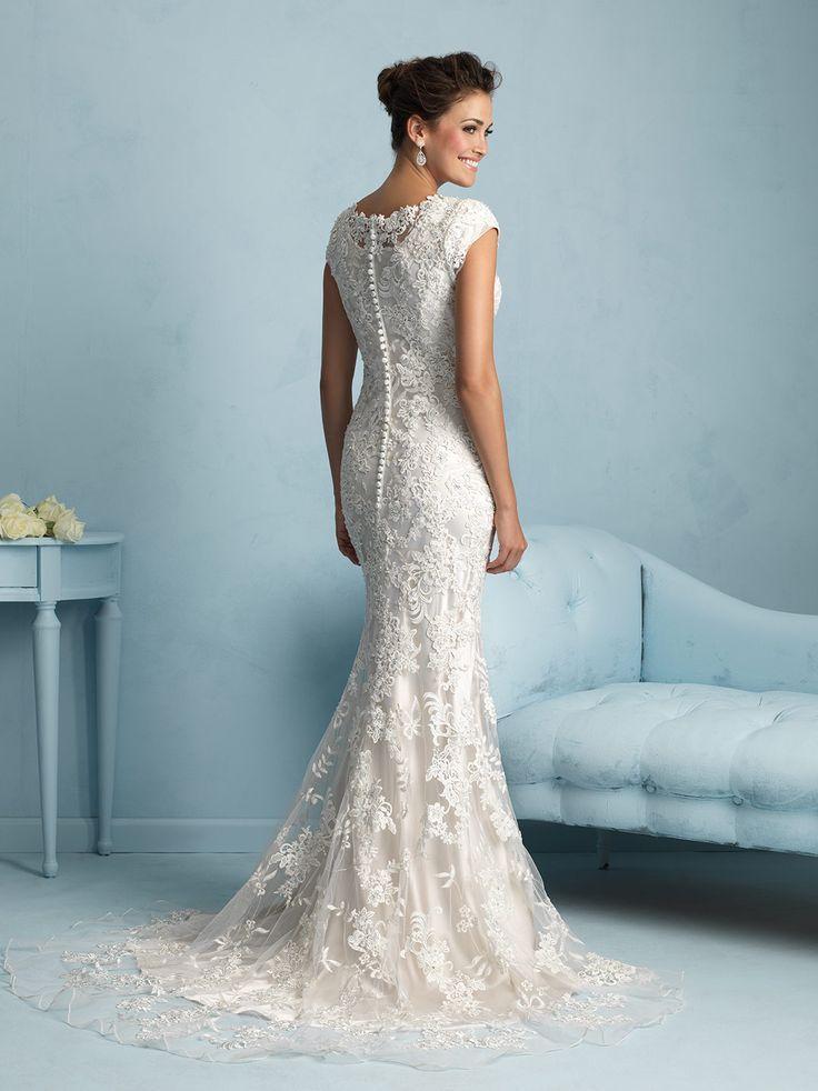 I love it!! Allure modest line. Modest LDS wedding dresses | Unique ...