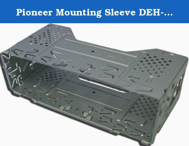 Pioneer Mounting Sleeve Deh X65bt Deh X6600bs Deh X6600bs Deh X6600bt Deh X66bt Deh X7500s Deh X7600hd Deh Car Stereo Systems Pioneer Car Audio Cheap Car Audio