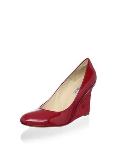 50% OFF Charles David Women's Vibrant Wedge Pump (Red)