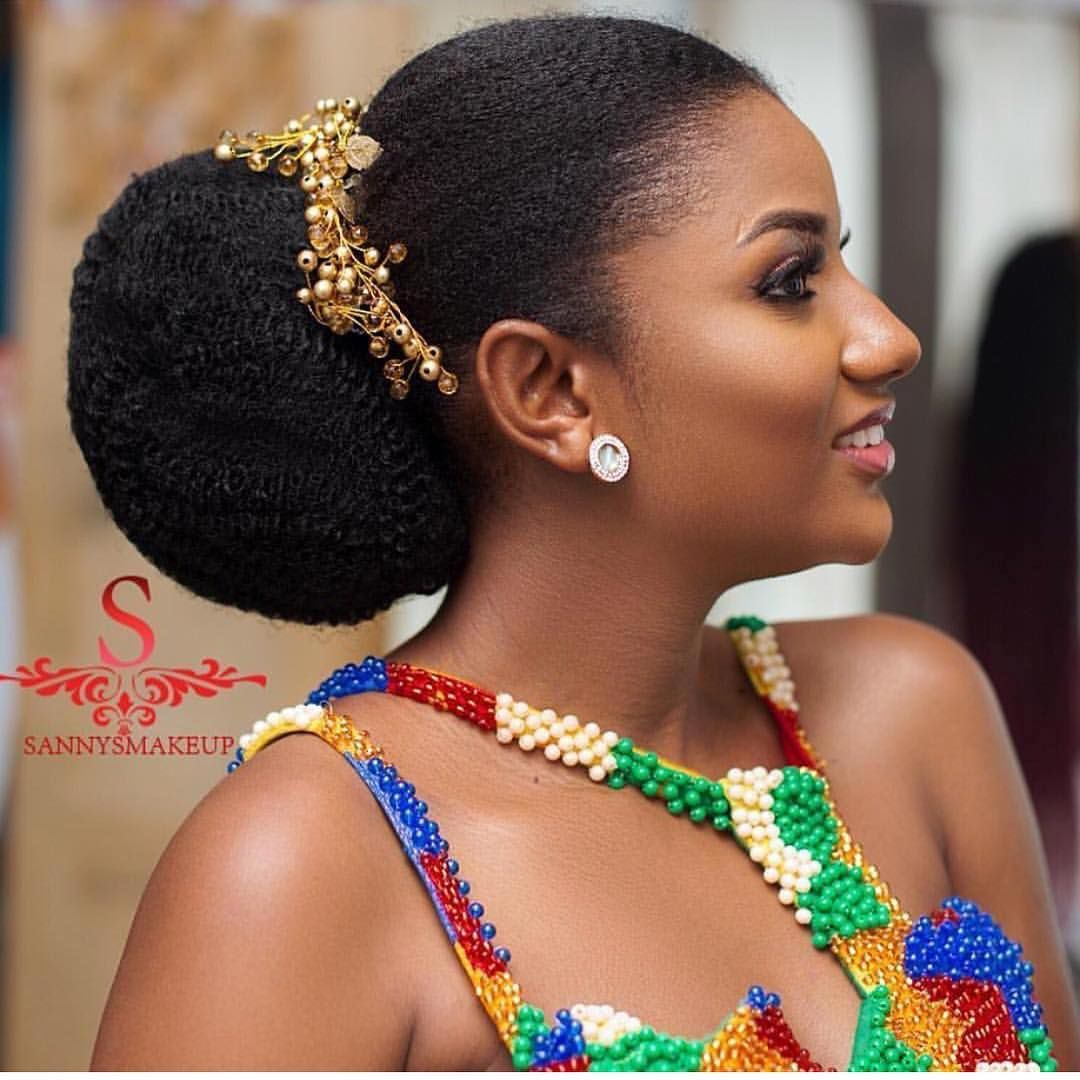 African Sweetheart Weddings On Instagram So So Beautiful Glam Sannysmakeup Natural Hair Wedding African Wedding Hairstyles Natural Hair Styles