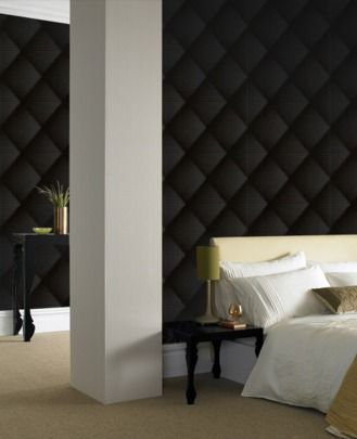 Noir by dutch designer Marcel Wanders ~ Braille Chester by Graham & Brown