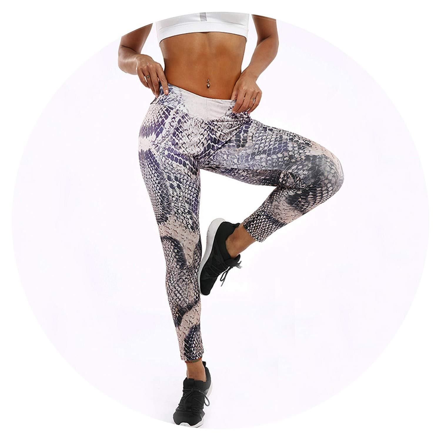 Polyester Women's Leggings Fitness High Waist AnkleLength