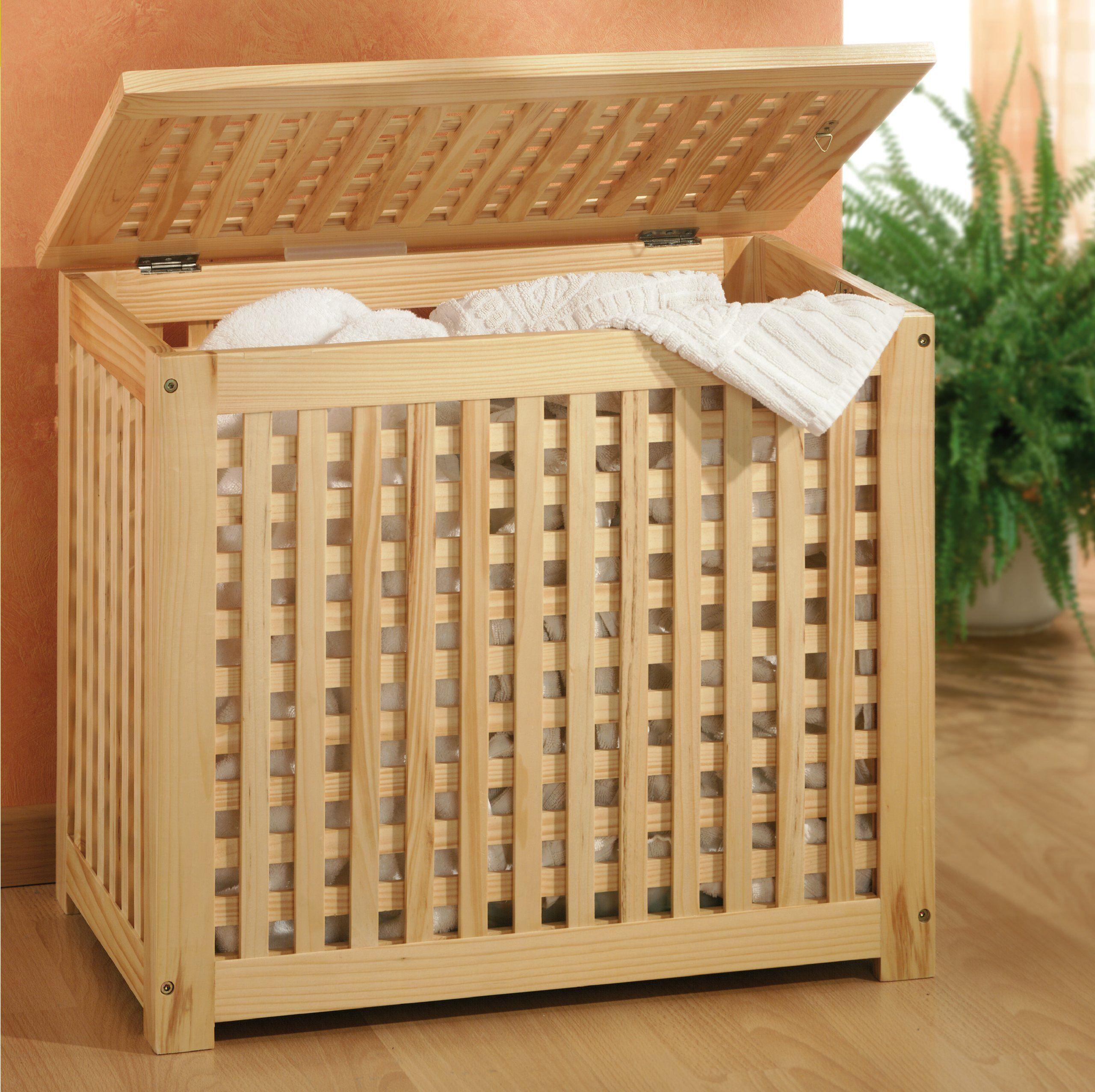 Schlafzimmer Waschetruhe Mit Leinensack Kiefernholz Amazon De Kuche Haushalt Waschetruhe Waschetonne Waschetruhe Holz