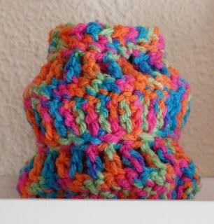 Crochet lantern.