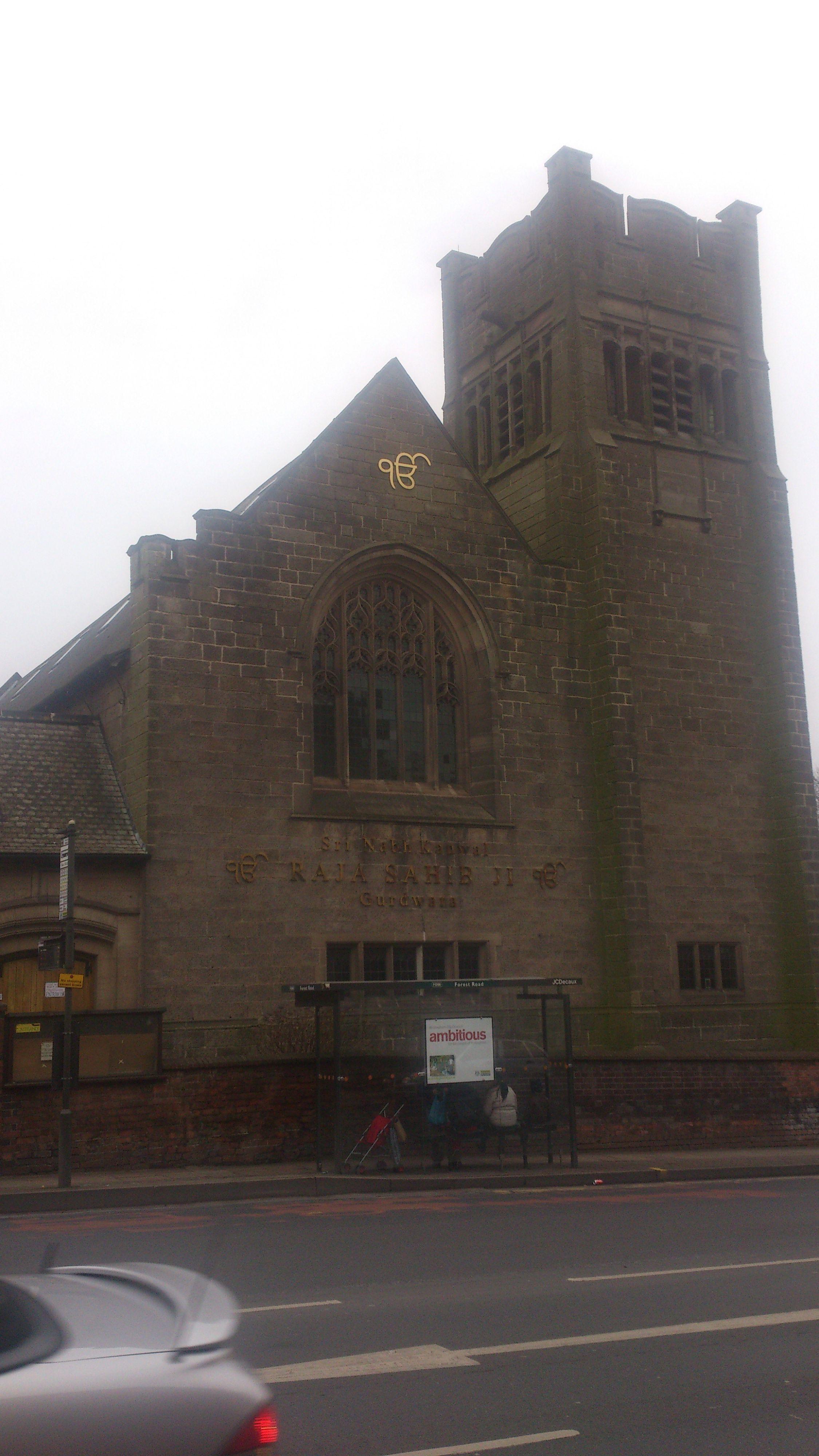 Gurdwara, Nottingham, England