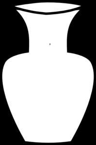 White Flower Vase Clip Art Clip Art Free Clip Art Flower Vases
