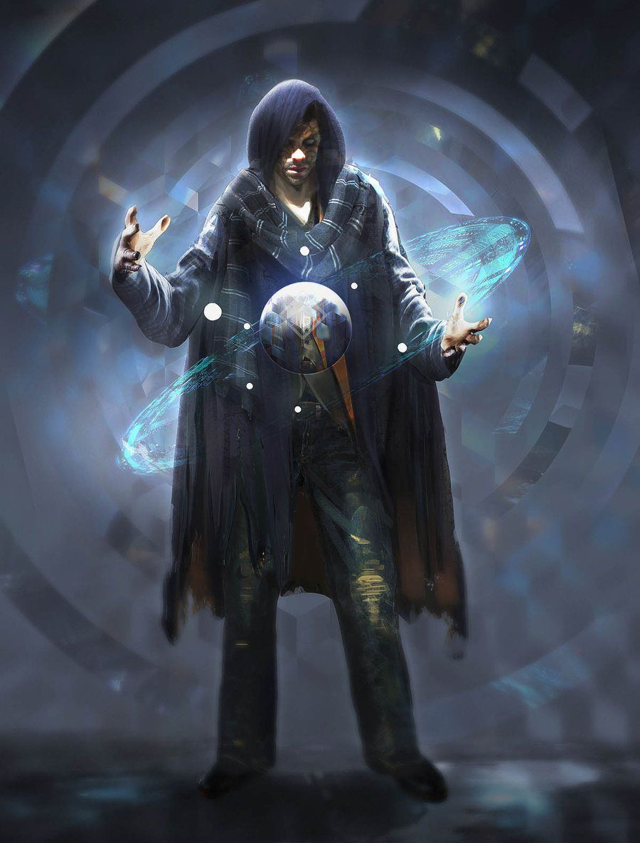 Space Mage Art