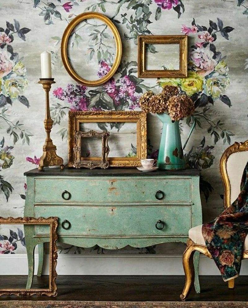 Rinnovare Pareti Di Casa decorare le pareti con cornici vintage | decorare le pareti