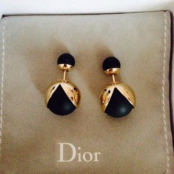 8039f5cbe8 Get the lowest price on Nwt Christian Dior Tribal Earrings and other  fabulous designer clothing and accessories! Shop Tradesy now