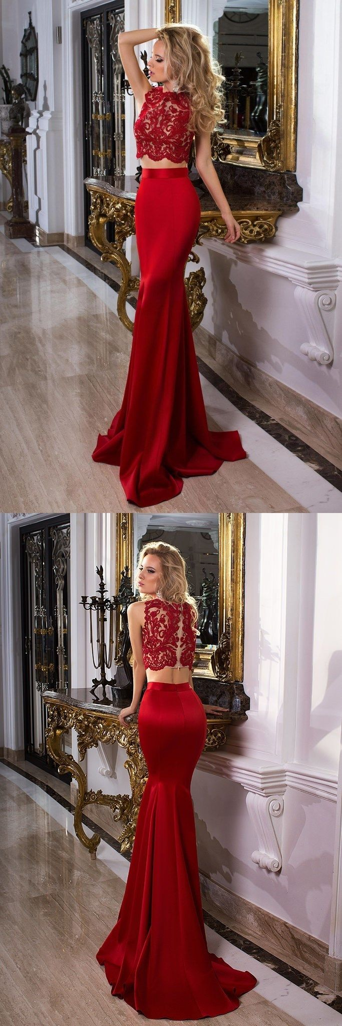 Prom dress red dress fitted dress party dress pieces prom
