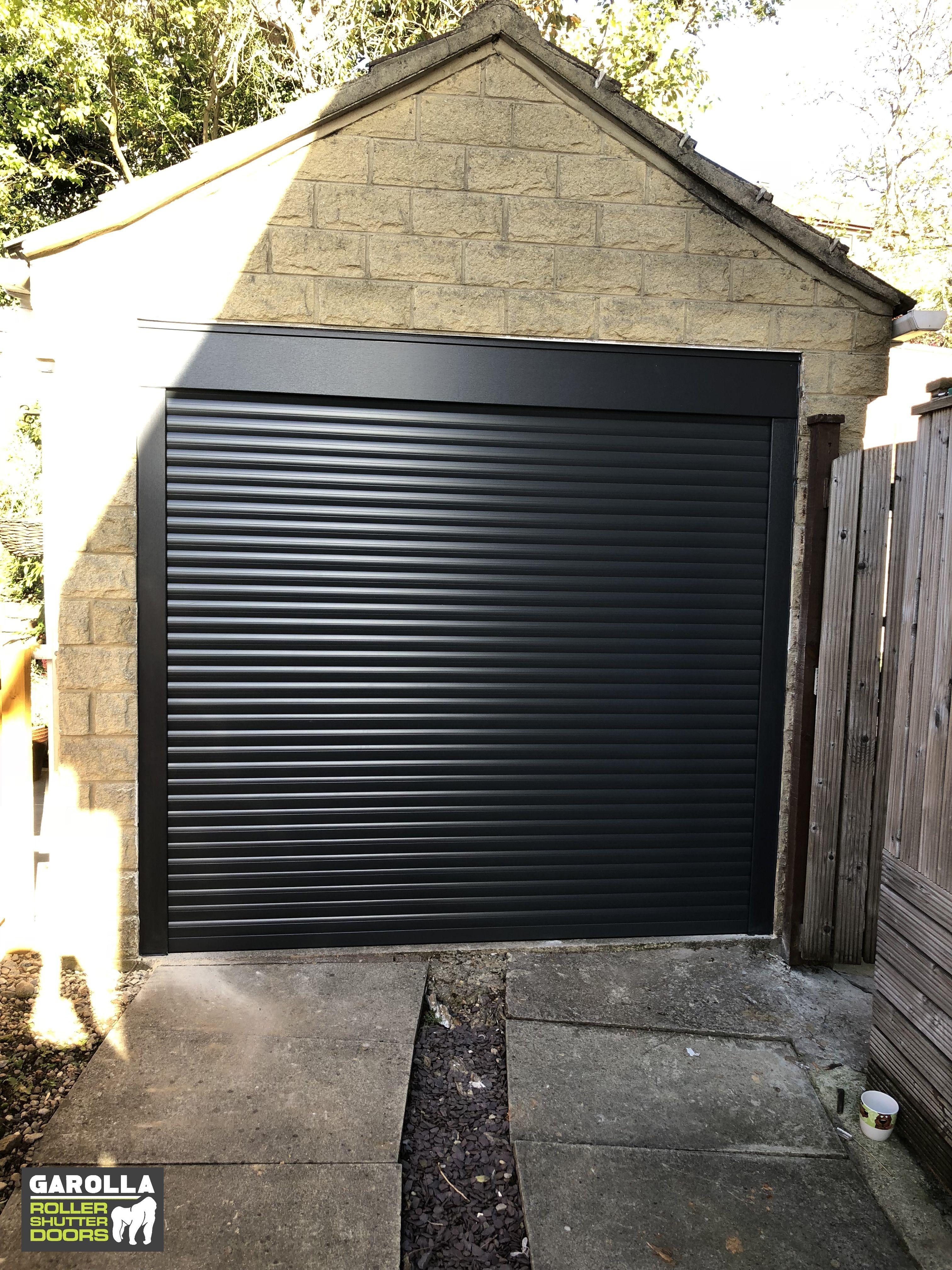 Black Garage Door In 2020 Garage Doors Garage Door Design Garage Door Cost