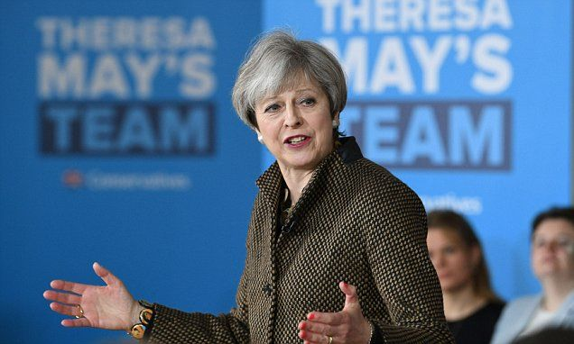 PM warns she needs a 'strong' mandate like Macron's for Brexit talks