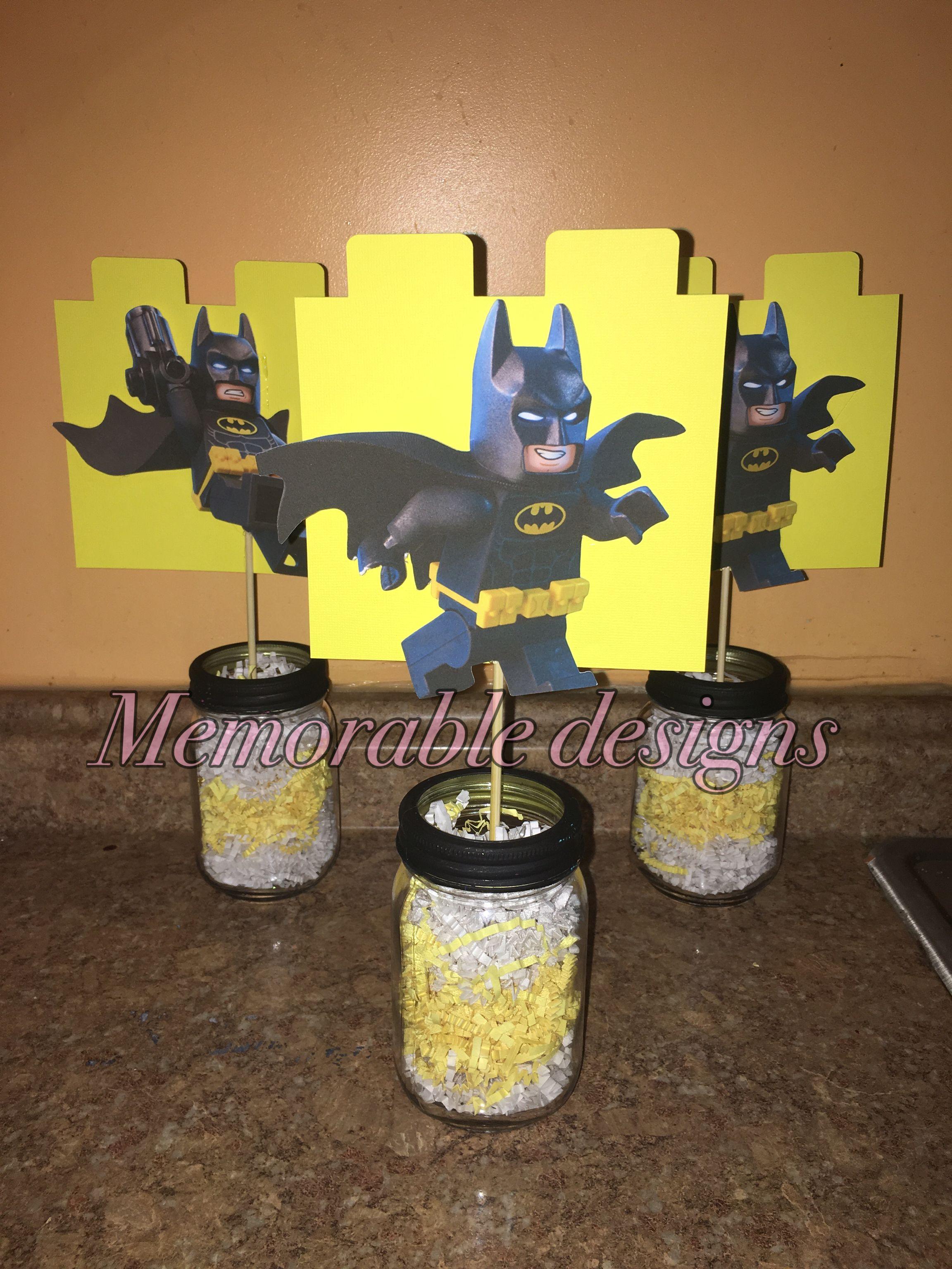 Lego Batman Centerpieces My Designs Lego Batman Table Lamp