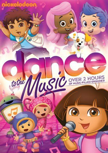 Nickelodeon Favorites Dance To The Music Dvd Artist Not