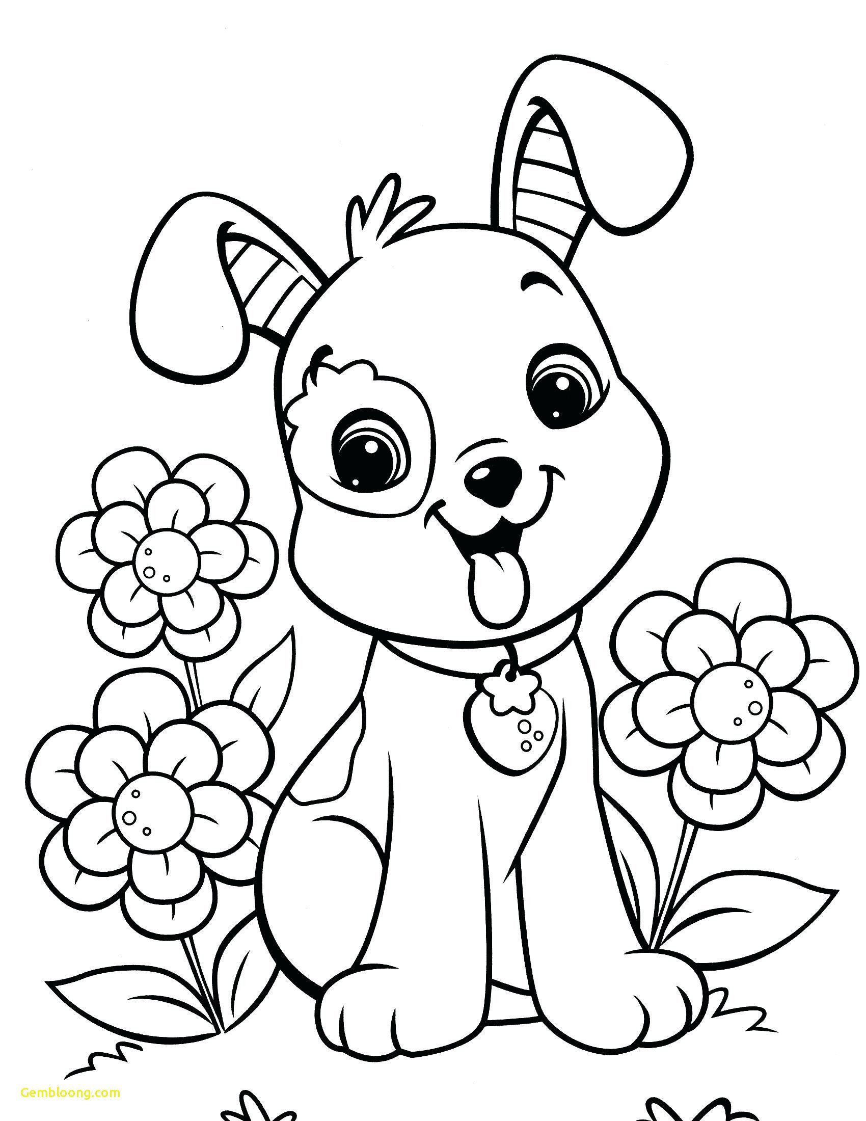 Pet Coloring Pages Free Designs Trend