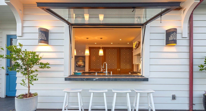 Houzz Pass Throughg Tiny Kitchen Pinterest Window Awnings