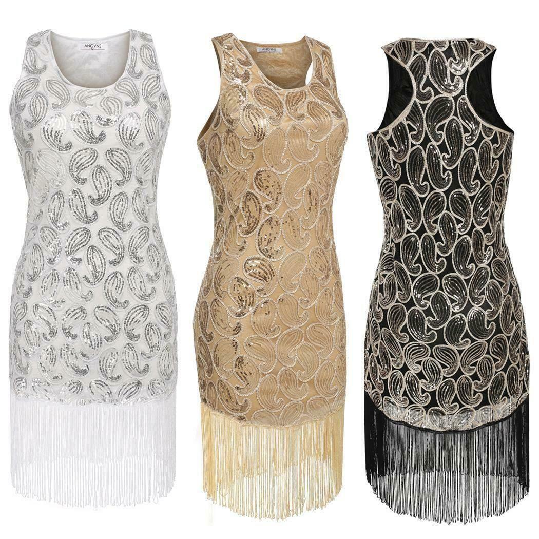 Kleid Paillettenkleid Festkleid Partykleid Coktailkleid rose 42