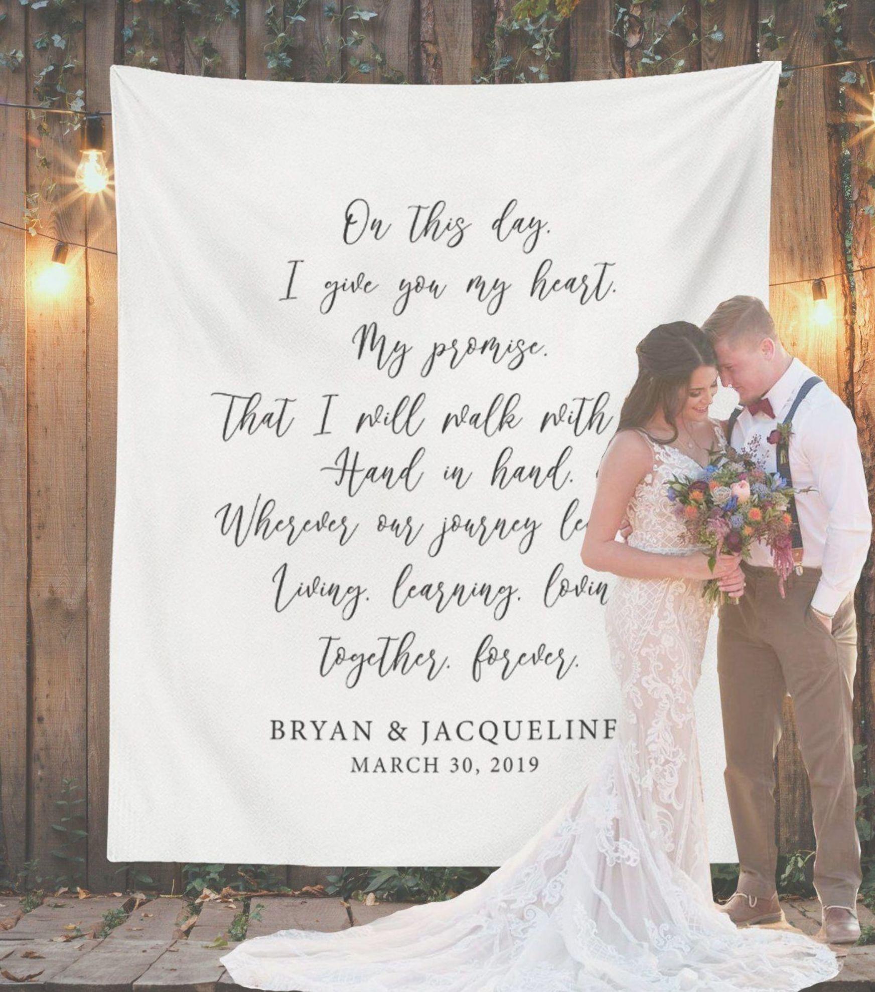 Modern Wedding Backdrop Ideas: Wedding Backdrop Ideas Personalized Wedding Backdrop