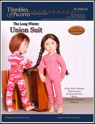 Union Suit Pattern For Agat Dolls Union Suit Pattern Suit