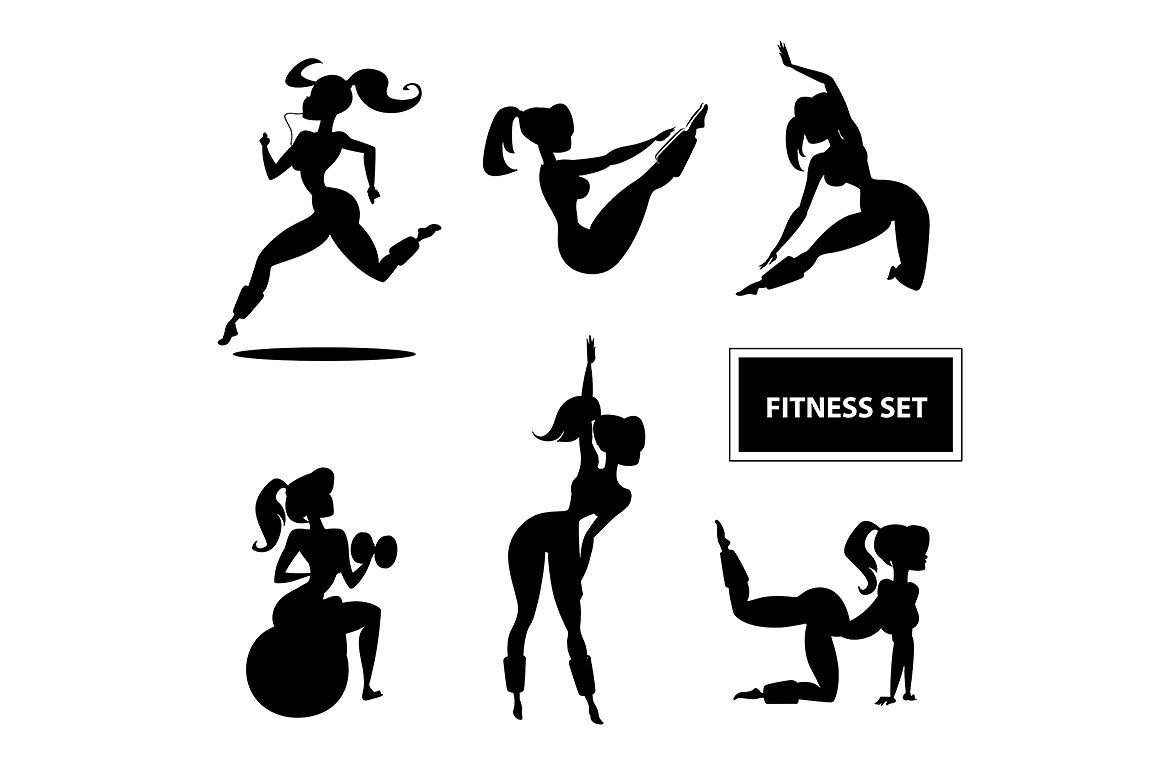 Woman Fitness Set Fitness Logo Design Fit Women Fitness Check out our fit woman for logo selection for the very best in unique or custom, handmade pieces from our shops. woman fitness set fitness logo design