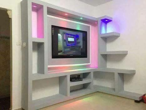 Tv Design Nova Gypsum Decoration Is The Best Gypsum Decoration Interior Design Company In Dhaka Bangladesh 017 Tv Wall Design Fireplace Design Tv Wall Decor