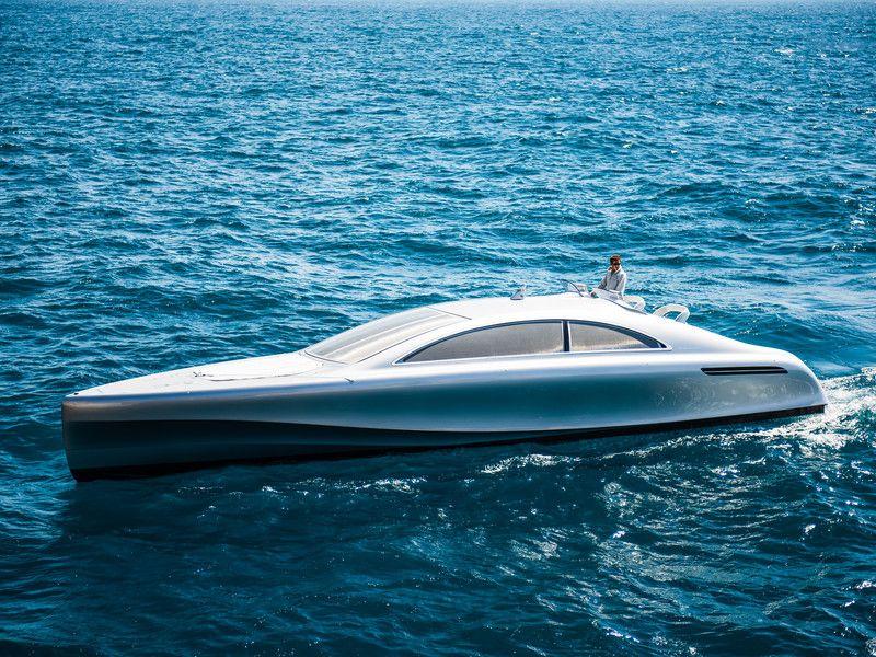 """Perfekt für alle Strandliebhaber: Die Mercedes-Benz Style Motoryacht """"Arrow460-Granturismo"""""""