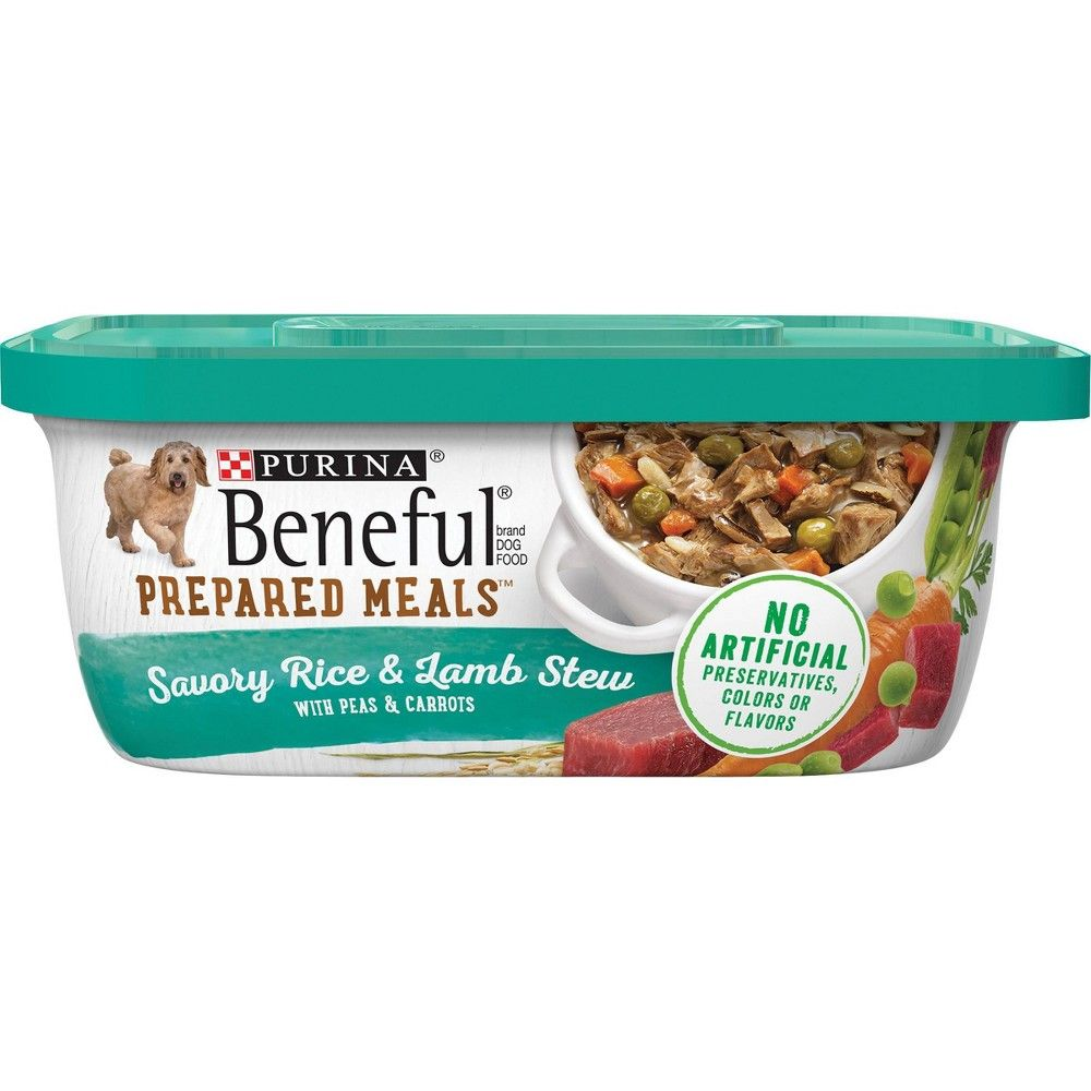 Beneful Prepared Meals Savory Rice Lamb Stew Wet Dog Food 10oz