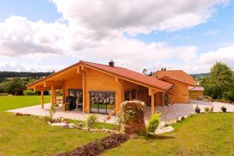 Haus Unterfranken Holzhaus, Haus und Style at home