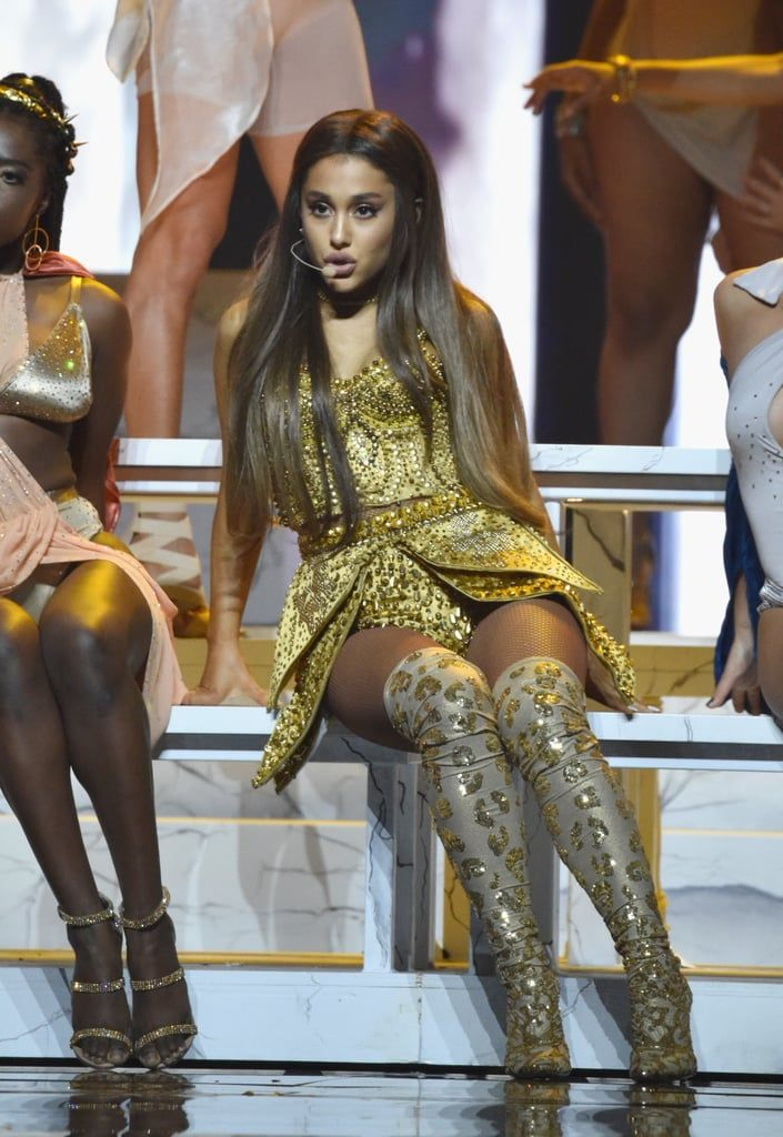 Bodysuits, Knee-High Boots, and Cat Ears Galore! 32 Ways to Channel Ariana Grande on Halloween