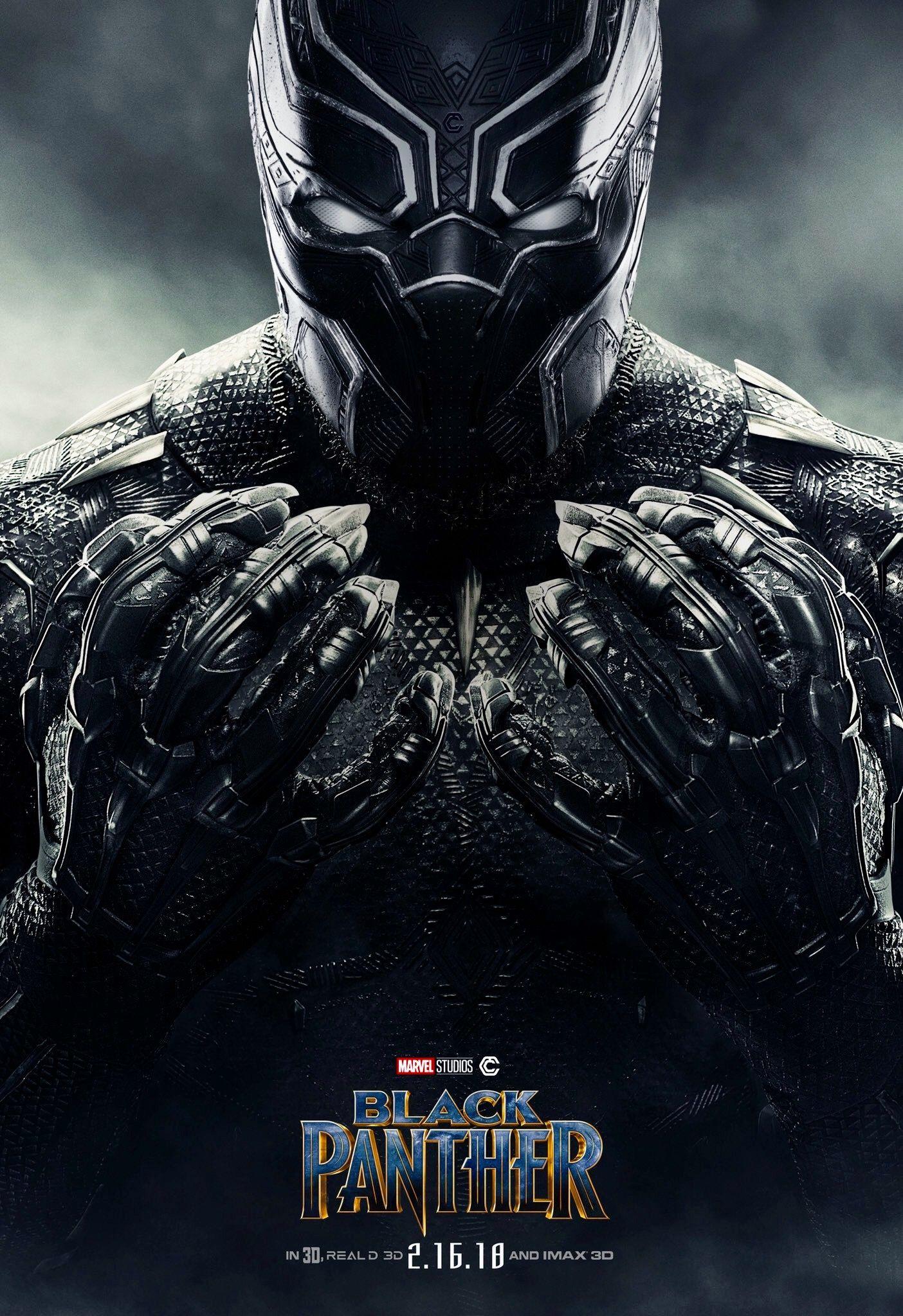Resultado de imagen para black panther 2018