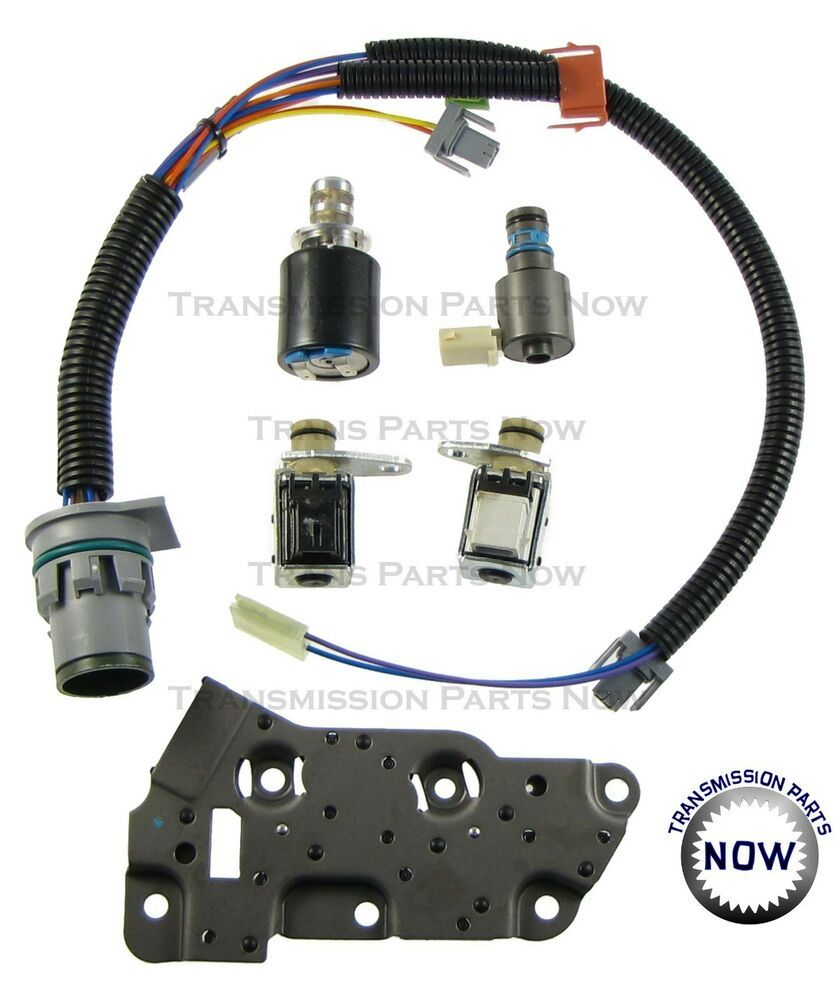 a2a7b5c383a0 4L80E GM Transmission Master Solenoid Kit Set With Harness 1994 to ...