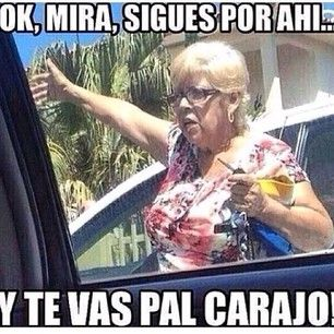 She Never Hesitates To Give People Directions Cuban Humor Puerto Rican Jokes Cubans Be Like