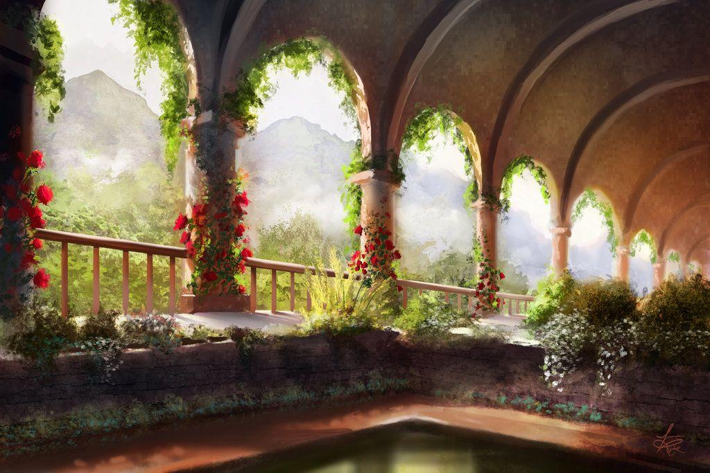 Castle Garden by jjpeabody on DeviantArt | Sceneries ...