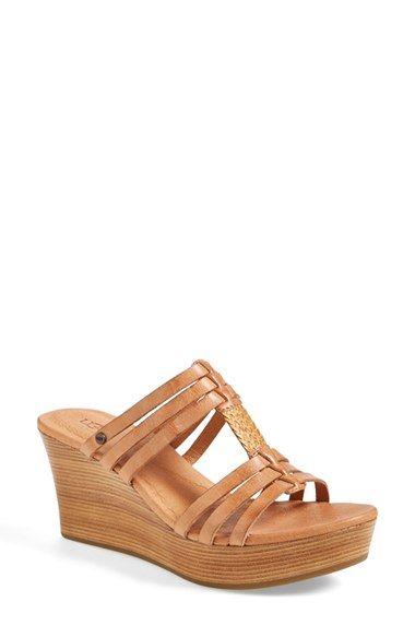 fa98679a42a1 UGG® Australia  Mattie  Platform Wedge Sandal (Women) available at   Nordstrom