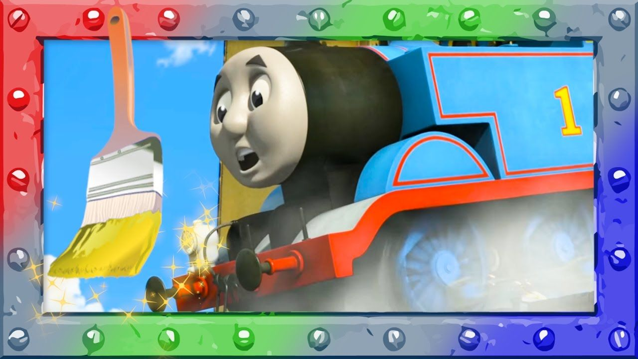 Let\'s Coloring with Thomas and Friends ♢ Learning and Coloring page ...