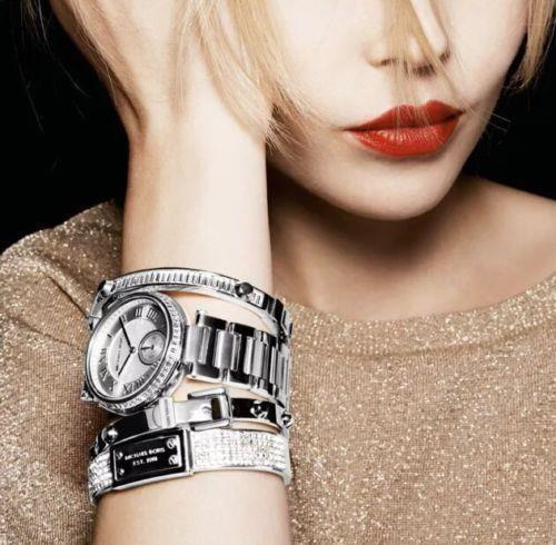 9bea33fde3ef NEW-Michael-Kors-Mk5866-Skylar-Silver-White-Dial-Crystal-Glitz-Ladies-Watch -275