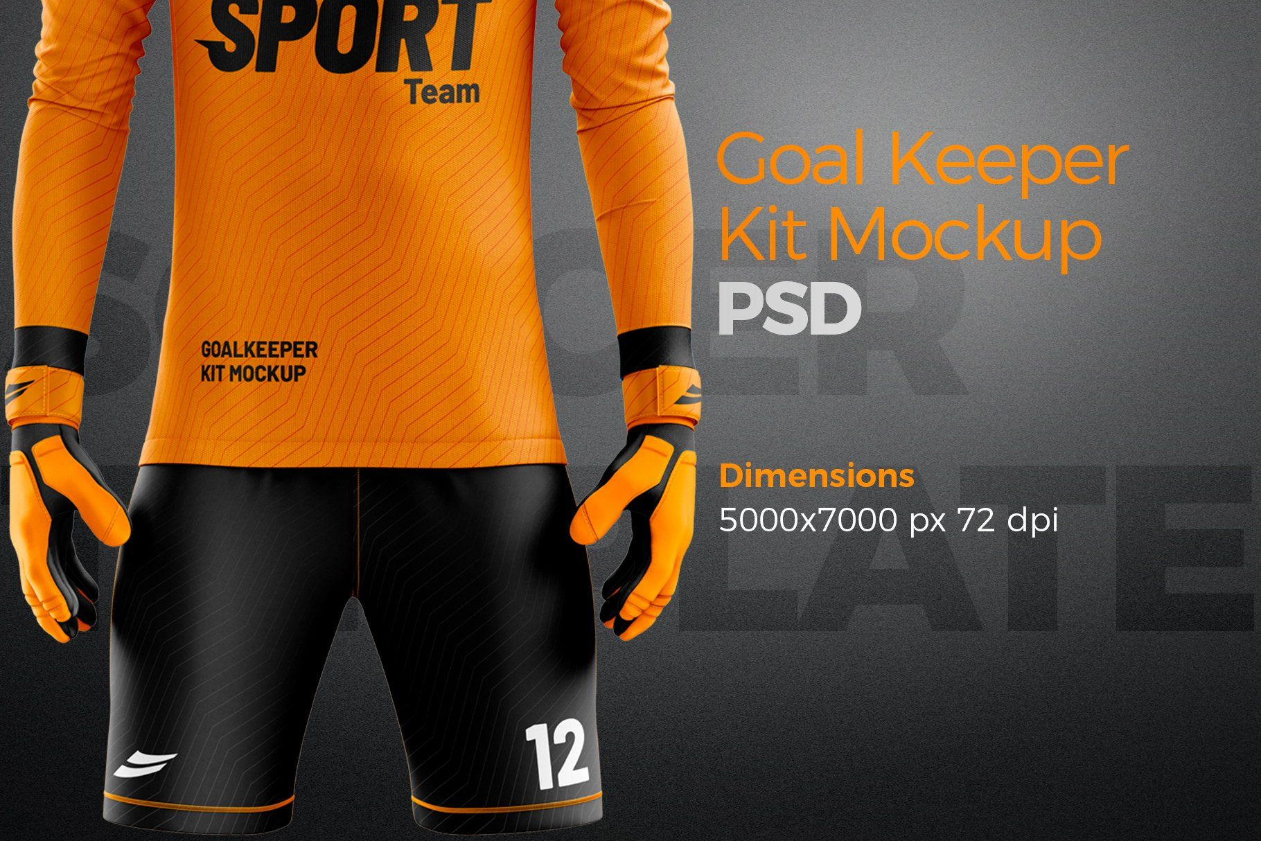 Download Goalkeeper Kit Mockup Psd Template Ad Spon Front Template Display Efficient Goalkeeper Kits Mockup Psd Goalkeeper