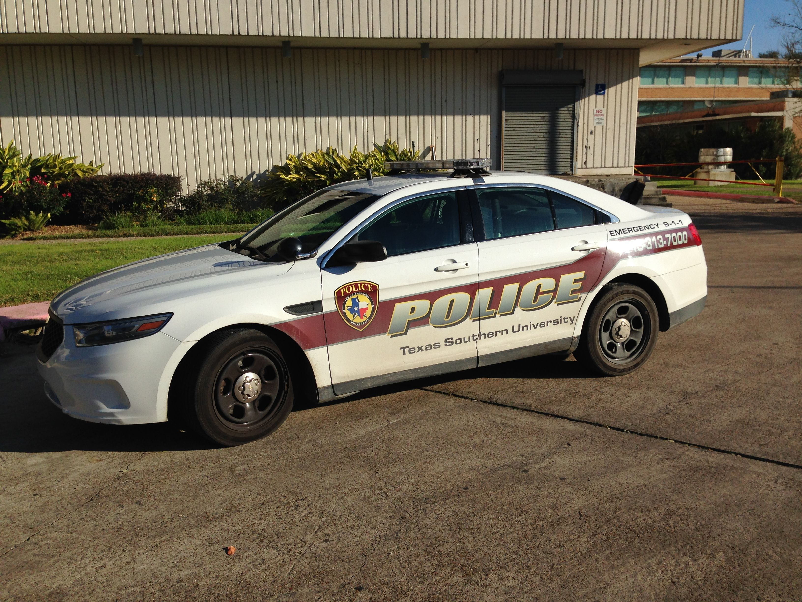 Texas Southern University Police Ford Police Interceptor Houston