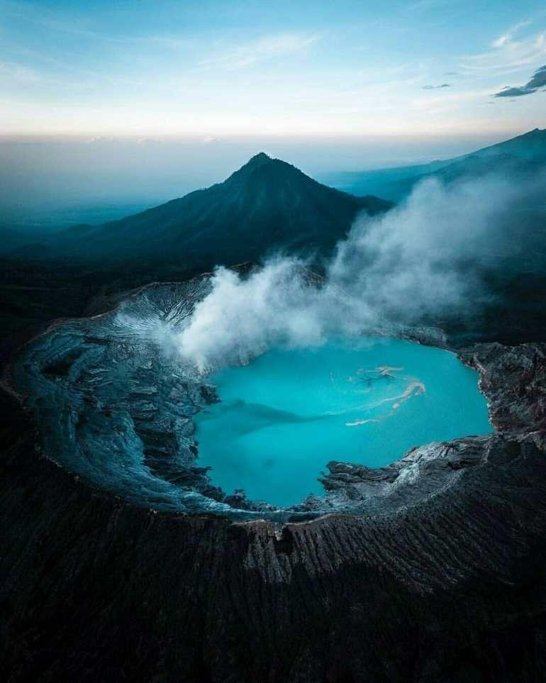 Ijen Volcano Jawa Timur Indonesia Volcano Trip Wonders Of The