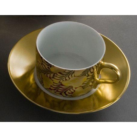 J.L. Coquet Trois Ors Black Tea Cup