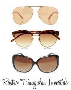 097cc6d431 Gafas rostro triangular invertido o en forma de corazón #trendistopic #moda  #fashion #gafasdesol #sunglasses