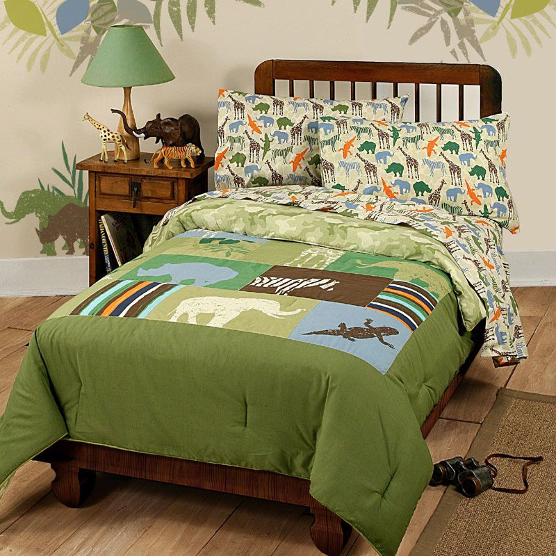 Animal Safari Bedding Set   Disney Comforter Sheets Twin Bed