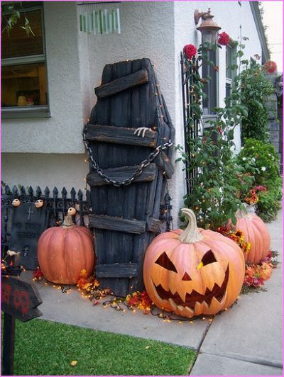 Pin by Linda Smith on Halloween Decor / Outdoor Pinterest - pinterest halloween yard decor