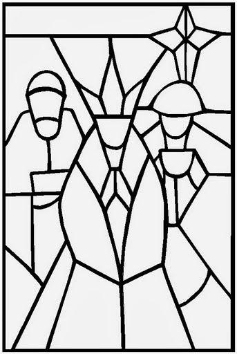 Educar con Jesús: Vidrieras de Navidad ( | Stained Glass Christmas ...